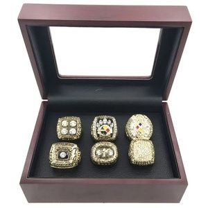 Other - Pittsburgh Steelers Champ Ring Set Fan Edition